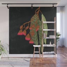 Flowering Gum - Black Wall Mural