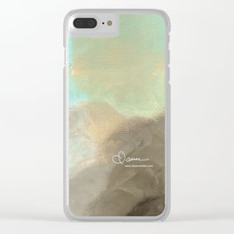 Abstract cloud Clear iPhone Case