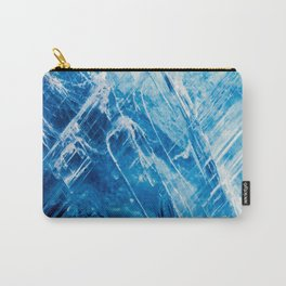 Blue Kyanite Carry-All Pouch