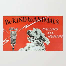 Be Kind To Animals 6 Rug