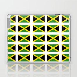 Flag of Jamaica 2-Jamaican,Bob Marley,Reggae,rastafari,cannabis,ganja,america,south america,ragga Laptop & iPad Skin