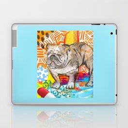 Bulldog pop art Laptop & iPad Skin