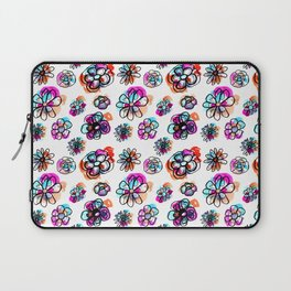 colorful fall floral Laptop Sleeve