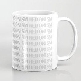 Hedonism in Britannic Bold Coffee Mug