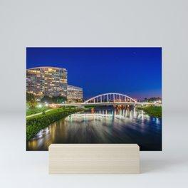The Main Street Bridge Mini Art Print