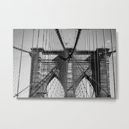 Old Steel Between Us Metal Print