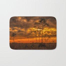 Everglade Sunset Bath Mat