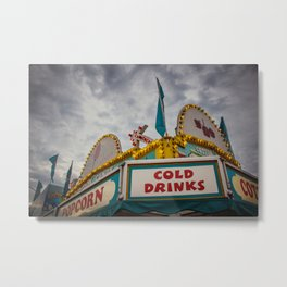 Cold Drinks at the Carnival Metal Print