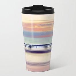 Pastel Horizons Travel Mug