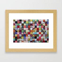 Bordage no3 - Fabric composition Framed Art Print