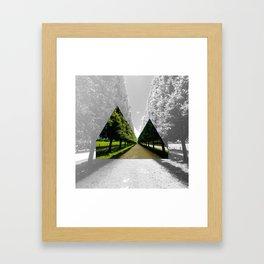 Reykjavik Boulevard #10 Framed Art Print