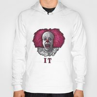pennywise Hoodies featuring Pennywise by zinakorotkova