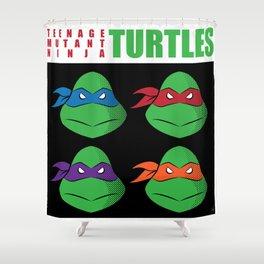 Meet the Turtles! Shower Curtain