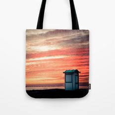 crimson skies Tote Bag