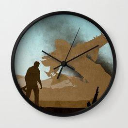 Drake's Deception Wall Clock