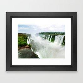 Devil's Throat at Iguazu Falls Fine Art Print Framed Art Print