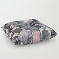 Art Deco Dream Floor Pillow