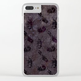 when the lights go out Clear iPhone Case