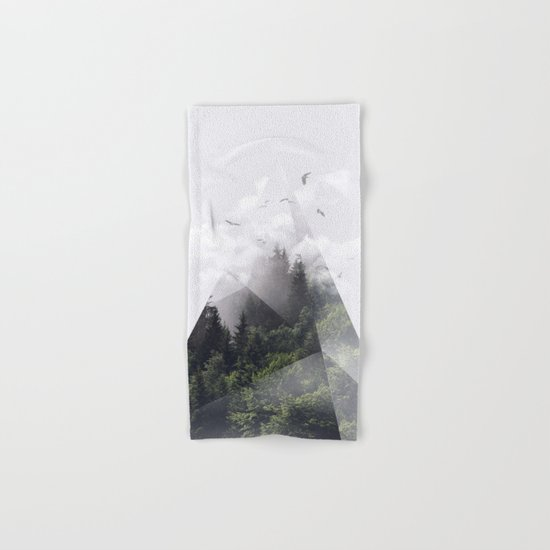 Forest triangle Hand & Bath Towel