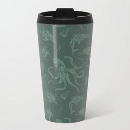 Shafted Sea Metal Travel Mug