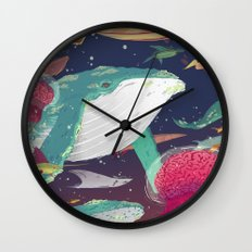 Animal Minds Wall Clock