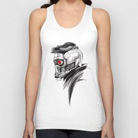 star lord Tank Tops featuring Star Lord by Dik Low