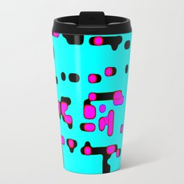 jitter, violet and blue 7 Travel Mug