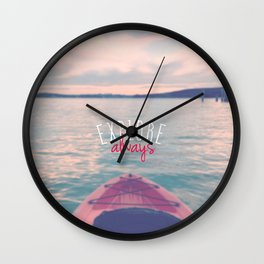 Explore always Wall Clock