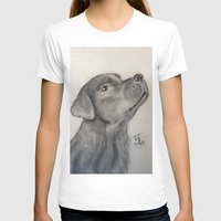lab T-shirts featuring Chocolate Lab by Samicam