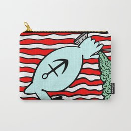 SPINACH FLAG U.S.A. Carry-All Pouch