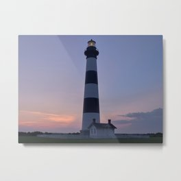 Bodie Island Lighthouse Bathroom Decor Metal Print