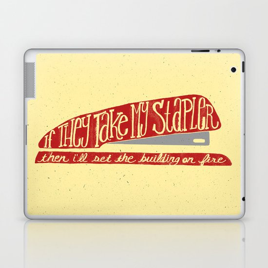 Office Space Laptop & iPad Skin