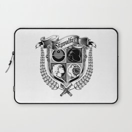 Family Coat of Arms Laptop Sleeve