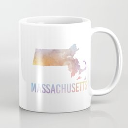 Watercolor State - MA Coffee Mug