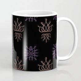 The Lux: Purple & Rose Gold Coffee Mug
