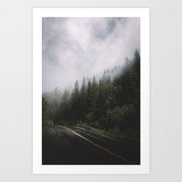 Forest + Fog Pt. II Art Print