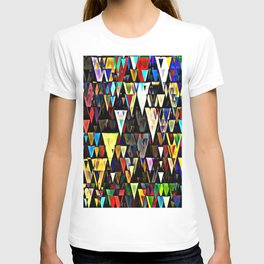 sharp down T-shirt