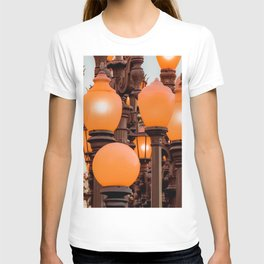 Urban Light at LACMA Los Angeles California USA T-shirt