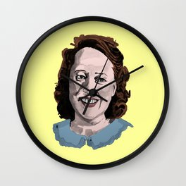 Happy Annie Wilkes - Misery  (Yellow) Wall Clock