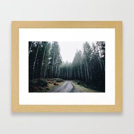 Drive VII Framed Art Print