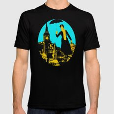 Mary in the City  MEDIUM Mens Fitted Tee Black