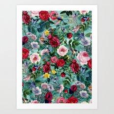 Surreal Garden Art Print