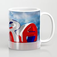 france Mugs featuring France by Carlo Toffolo