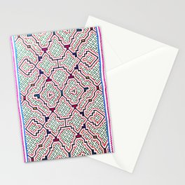 Song for Good Work - Traditional Shipibo Art - Indigenous Ayahuasca Patterns Stationery Cards
