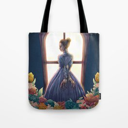 Lady of March Tote Bag