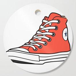 High-Top Sneakers Cutting Board