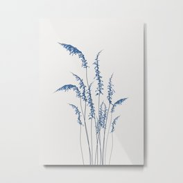 Blue flowers 2 Metal Print