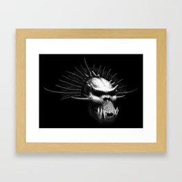 Troll Skull Framed Art Print