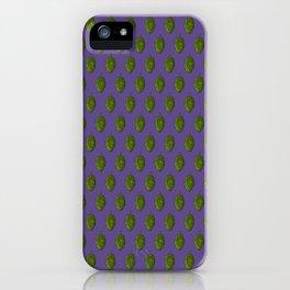 """Hops """"Ultra Violet"""" Pattern iPhone Case"""