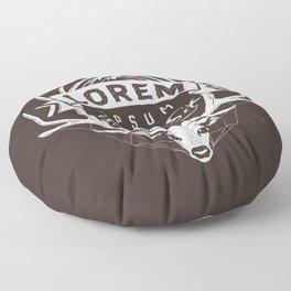 adventure blah! Floor Pillow